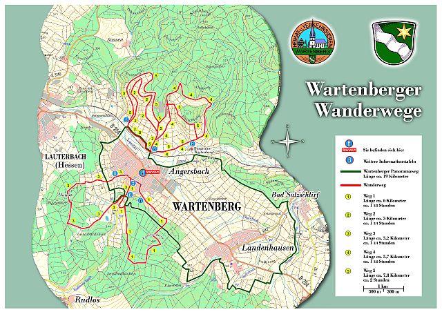 Wartenberger Wanderwege Gemeinde Wartenberg